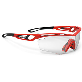Rudy Project Tralyx Okulary rowerowe, fire red gloss - impactx photochromic 2 black